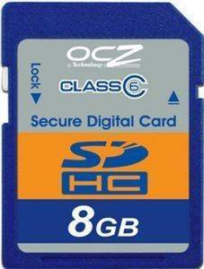 OCZ SECURE DIGITAL DUAL HC 8GB CLASS 6