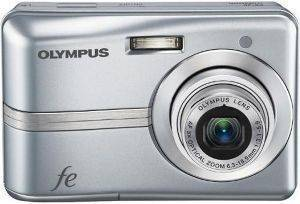 OLYMPUS FE-45 SILVER + LIMITED EDITION KIT