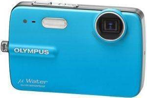 OLYMPUS MJU-550 WATERPROOF BLUE + ACCESSORY KIT