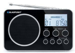 BLAUPUNKT PORTABLE DIGITAL PLL RADIO BDR-500 BLACK