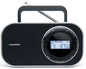BLAUPUNKT DESKTOP/PORTABLE/AC/DC DIGITAL PLL RADIO BTD-7000 BLACK