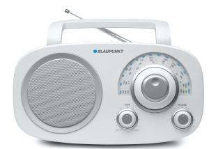 BLAUPUNKT TABLE-TOP MULTI-BAND AC/DC ANALOGUE RADIO BSA-8001 WHITE
