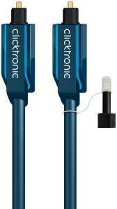 CLICKTRONIC HC302 TOSLINK CABLE 0.5M CASUAL