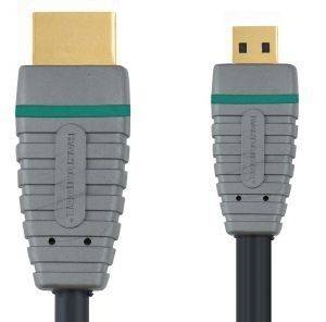 BANDRIDGE BVL1702 HIGH SPEED HDMI CABLE WITH ETHERNET 2M