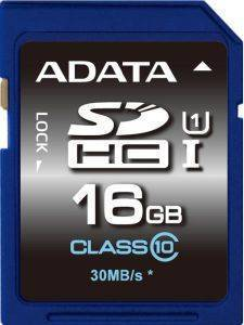 ADATA 16GB SECURE DIGITAL HIGH CAPACITY UHS-I CLASS 10