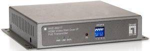 LEVEL ONE HVE-6601T HDMI VIDEO WALL OVER IP POE TRANSMITTER