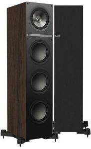 KEF Q700 FLOORSTANDING SPEAKERS 150W WALNUT