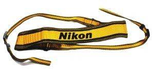 NIKON AN-6Y SHOULDER STRAP BLACK/YELLOW