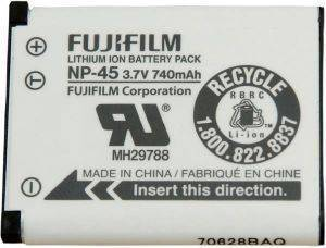 FUJIFILM NP-45 RECHARGABLE BATTERY