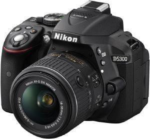 NIKON D5300 + AF-S DX 18-140 VR KIT BLACK  16 20 megapixels