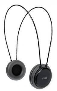 CRYPTO HP-100 ON-EAR HEADPHONE BLACK