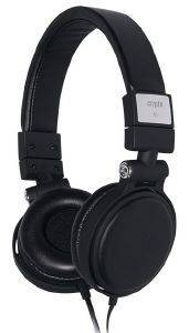 CRYPTO HP-200 ON-EAR HEADPHONE BLACK