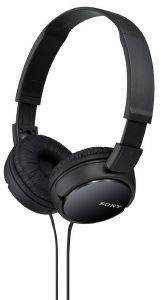 SONY MDR-ZX110/B STEREO HEADPHONES BLACK