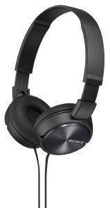 SONY MDR-ZX310B LIGHTWEIGHT FOLDING HEADBAND TYPE HEADPHONES BLACK