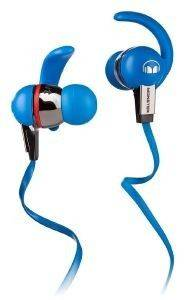 MONSTER ISPORT IMMERSION IN-EAR HEADPHONES WITH CONTROLTALK BLUE