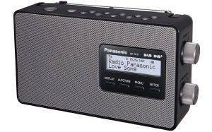 PANASONIC RF-D10 DAB+ PORTABLE AM/FM RADIO BLACK