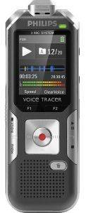 PHILIPS DVT6000 4GB VOICE TRACER DIGITAL RECORDER SILVER SHADOW/ANTHRACITE