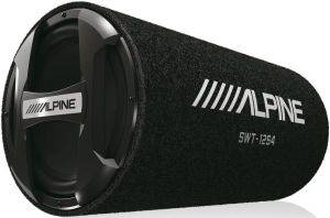 ALPINE SWT-12S4 12'' 1000W/300W RMS TUBE SUBWOOFER