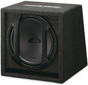 ALPINE SBE-1244BR 650W/200W RMS 12'' TYPE-E SUBWOOFER