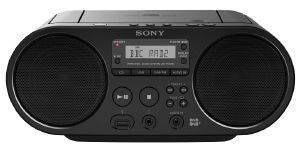SONY ZS-PS55B CD BOOMBOX BLACK