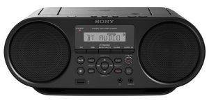 SONY ZS-RS60BT CD BOOMBOX WITH BLUETOOTH BLACK