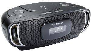THOMSON RCD400BT PORTABLE CD/MP3 RADIO PLAYER WITH BLUETOOTH BLACK