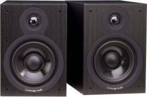CAMBRIDGE AUDIO SX-50 PREMIUM BOOKSHELF SPEAKERS BLACK