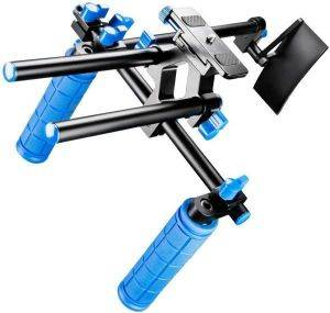 WALIMEX PRO CINEAST III HAND & SHOULDER VIDEO TRIPOD