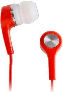 SETTY STEREO EARPHONES RED