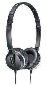 AUDIO TECHNICA ATH-ANC1 QUIETPOINT ACTIVE NOISE-CANCELLING ON-EAR HEADPHONES