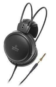 AUDIO TECHNICA ATH-A500X AUDIOPHILE CLOSED-BACK DYNAMIC HEADPHONES BLACK