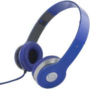 ESPERANZA EH145B STEREO AUDIO HEADPHONES TECHNO BLUE