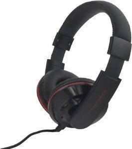 ESPERANZA EH144K STEREO AUDIO HEADPHONES CORAL BLACK