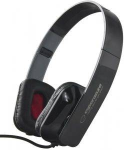 ESPERANZA EH143K STEREO AUDIO HEADPHONES ARUBA BLACK