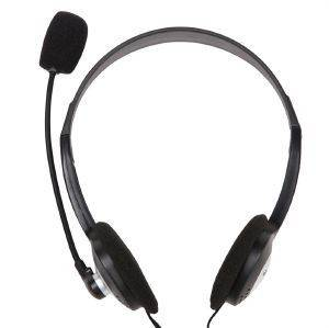 ACME CD602 HEADPHONES WITH MICROPHONE BLACK