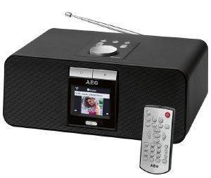 AEG IR 4468 BT INTERNET STEREO RADIO BLACK