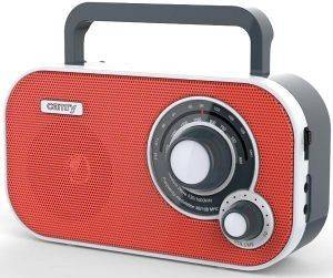 CAMRY CR1140R PORTABLE RADIO FM/AM RED