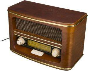 CAMRY CR1103 RETRO RADIO LW/FM BROWN