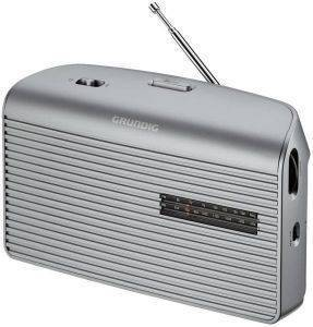 GRUNDIG MUSIC 60 PORTABLE RADIO SILVER
