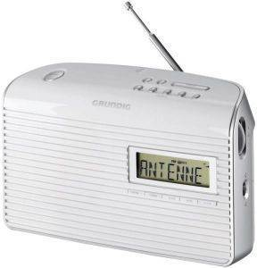 GRUNDIG MUSIC 61 PORTABLE RADIO WHITE