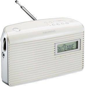 GRUNDIG MUSIC 7000 DAB+ DIGITAL RADIO WHITE/SILVER