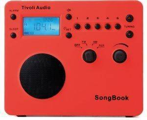 TIVOLI SONG BOOK SBRED CLASSIC SERIES RED