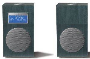 TIVOLI MODEL 10 M10COB CONTEMPORARY COLLECTION WITH STEREO SPEAKERS BLUE/ SILVER
