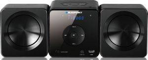 BLAUPUNKT MS5BK MICRO SYSTEM WITH CD/USB PLAYER