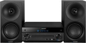 BLAUPUNKT MS30BT MICRO SYSTEM WITH BLUETOOTH AND CD/USB PLAYER