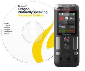 PHILIPS DVT2710 8GB VOICE TRACER AUDIO RECORDER SPEECH TO TEXT