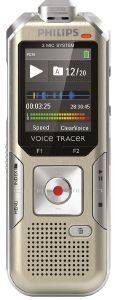 PHILIPS DVT6500 4GB VOICE TRACER DIGITAL RECORDER CHAMPAGNE/SILVER SHADOW