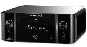 MARANTZ M-CR611 NETWORK CD RECEIVER WITH AIRPLAY, SPOTIFY, BLUETOOTH, AND INTERNET RADIO BLACK