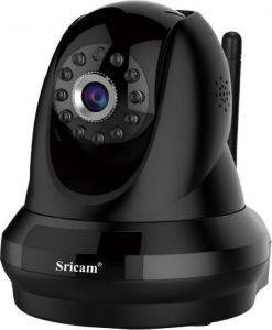 SRICAM SP018 1080P WIFI INDOOR SECURITY IP CAMERA BLACK