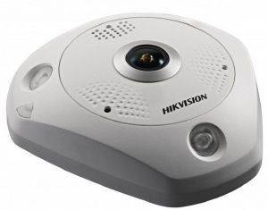 HIKVISION DS-2CD63C2F-IVS2MM 12MP FISHEYE NETWORK CAMERA